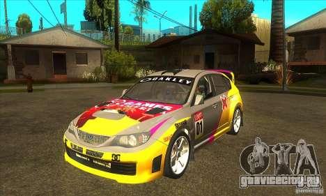 Subaru Impreza WRX STi X GAMES America из DIRT 2 для GTA San Andreas