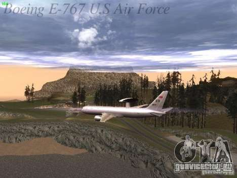 Boeing E-767 U.S Air Force для GTA San Andreas двигатель