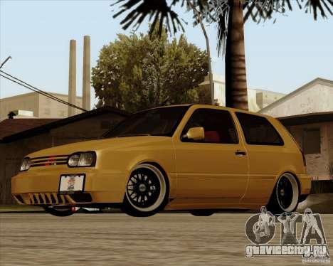 VW Golf MK 4 low & slow для GTA San Andreas