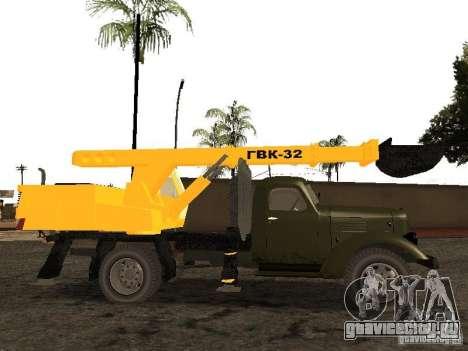 Зил 157 ГВК-32 для GTA San Andreas вид слева