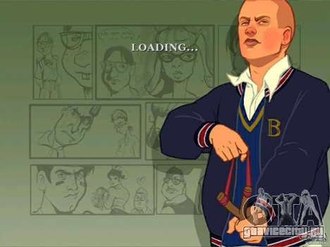 Закрузочные экраны Bully Scholarship Edition для GTA San Andreas