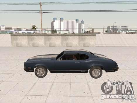 Sabre HD для GTA San Andreas вид сзади слева