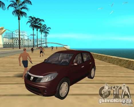 Dacia Sandero 1.6 MPI для GTA San Andreas