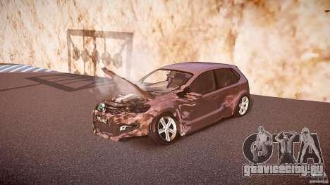Volkswagen Polo 2011 для GTA 4 салон