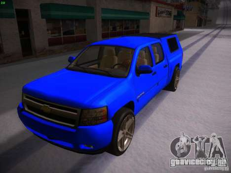 Chevrolet Silverado для GTA San Andreas