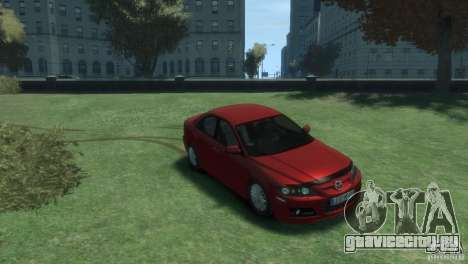Mazda 6 MPS для GTA 4 вид справа