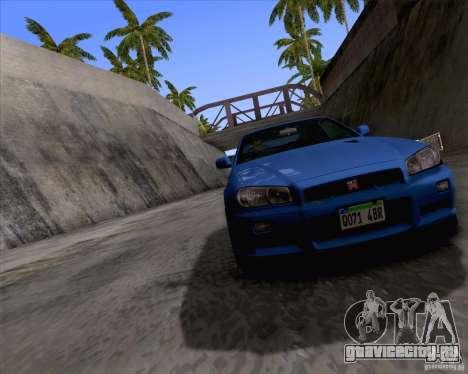 ENBSeries by Sankalol для GTA San Andreas третий скриншот