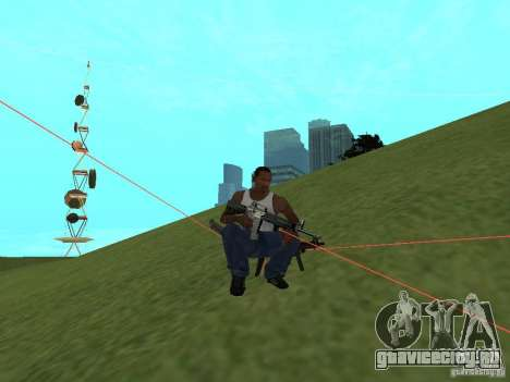 Laser Weapon Pack для GTA San Andreas седьмой скриншот