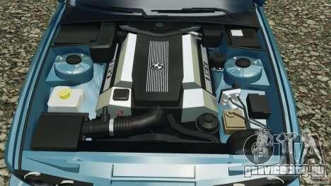 BMW E34 V8 540i для GTA 4 вид снизу