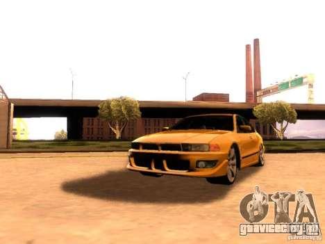 Mitsubishi Galant 2002 для GTA San Andreas вид сзади