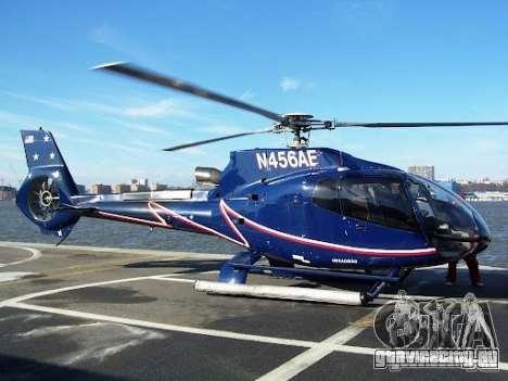 Eurocopter EC130B4 NYC HeliTours REAL для GTA 4 вид сверху