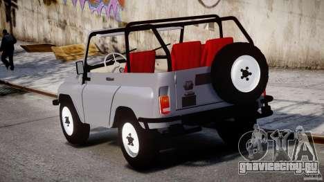 УАЗ 3150 для GTA 4 вид сверху