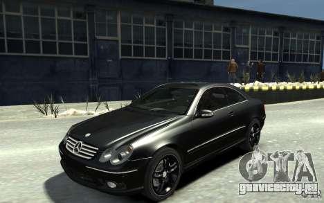 Mercedes-Benz CLK55 AMG 2003 v1 для GTA 4