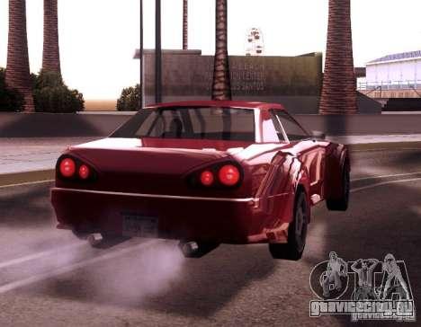 Elegy Wide Body для GTA San Andreas вид сзади слева
