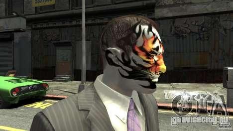 Tatoo Tiger для GTA 4 третий скриншот