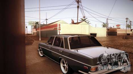 Mercedes Benz 300 SEL - Custom RC3D Edit для GTA San Andreas вид сзади слева