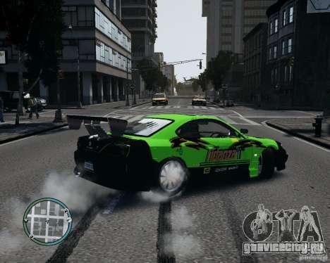 Nissan Silvia для GTA 4 вид слева
