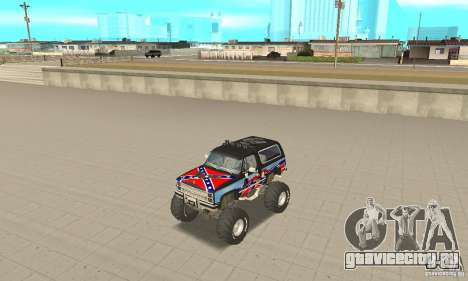 Chevrolet Blazer K5 Monster Skin 1 для GTA San Andreas