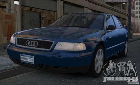 Audi A8 2000 для GTA 4