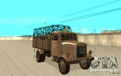 MERCEDES-BENZ L3000 v2.0 для GTA San Andreas