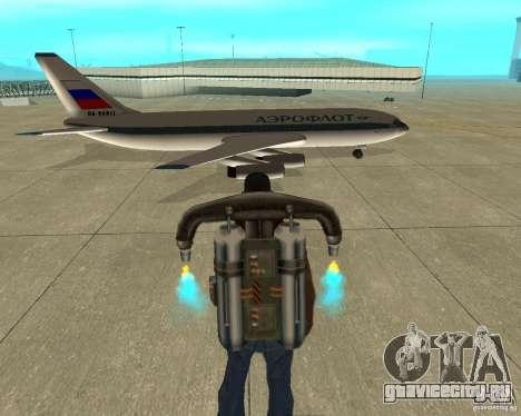 Ил-86 для GTA San Andreas вид справа