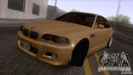 BMW M3 E48 для GTA San Andreas вид слева