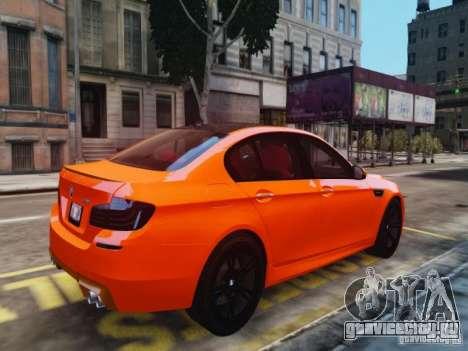BMW M5 F10 2012 Aige-edit для GTA 4 вид слева