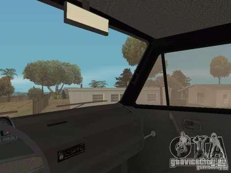 Volkswagen Transporter T3 для GTA San Andreas вид сбоку