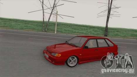 ВАЗ 2114 DROP для GTA San Andreas вид слева