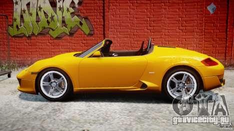 Ruf RK Spyder v0.8Beta для GTA 4 вид слева