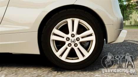 Honda Mugen CR-Z v1.1 для GTA 4 вид изнутри