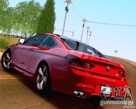 BMW M6 2013 для GTA San Andreas салон