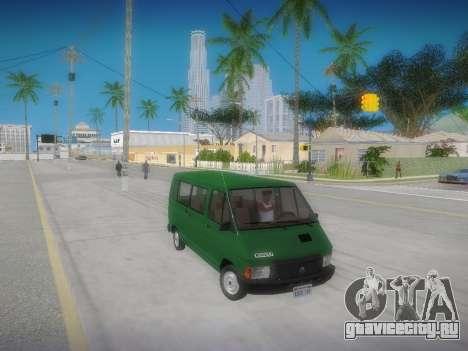 Renault Trafic T1000D Minibus для GTA San Andreas вид справа