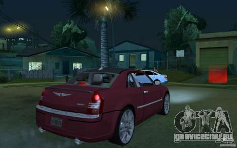 Chrysler 300c Roadster Part2 для GTA San Andreas