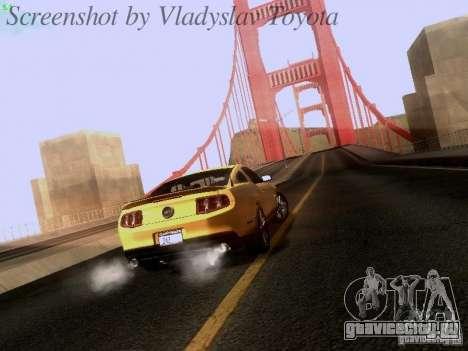 Ford Mustang GT 2011 для GTA San Andreas вид слева