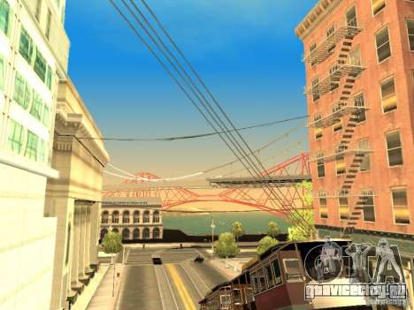 New Sky Vice City для GTA San Andreas девятый скриншот