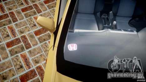 Honda Civic Type R 2005 для GTA 4 салон