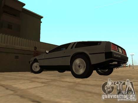 DeLorean DMC-12 1982 для GTA San Andreas вид слева