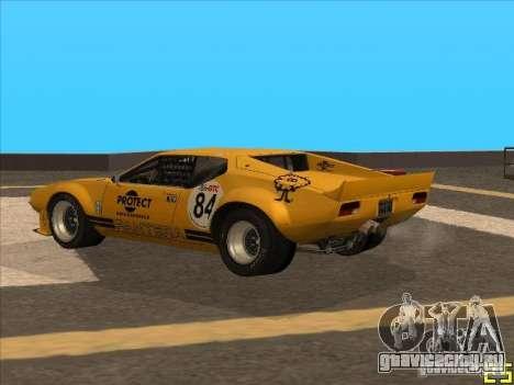 1972 DeTomaso Pantera для GTA San Andreas вид слева