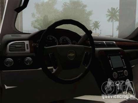 Chevrolet Silverado 2500HD 2013 для GTA San Andreas двигатель
