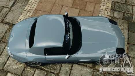 BMW Z8 2000 для GTA 4 вид справа