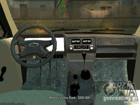 Ваз 2131 Нива для GTA 4 вид справа