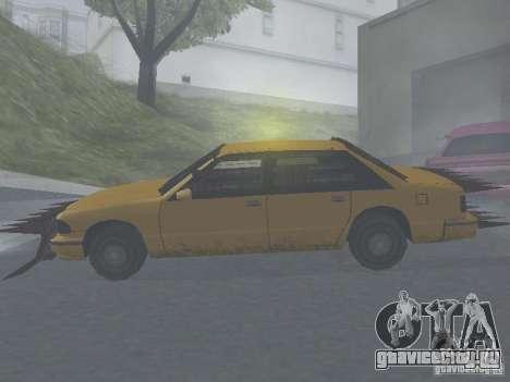 Зомби Такси для GTA San Andreas вид сзади слева