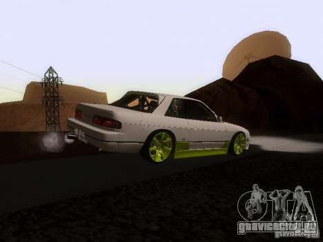 Nissan Silvia S13 Drift Style для GTA San Andreas вид сзади слева