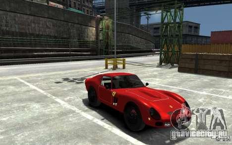 Ferrari 250 Le Mans для GTA 4 вид сзади
