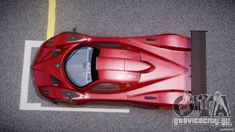 Pagani Zonda R для GTA 4 вид справа