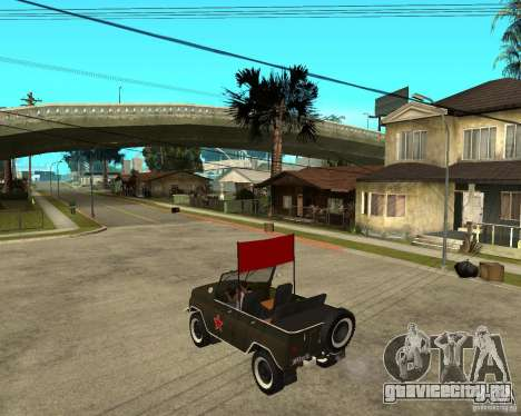 УАЗ 469 Парадный для GTA San Andreas вид слева