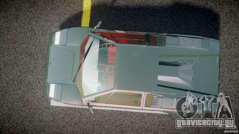 Lamborghini Countach v1.1 для GTA 4 вид справа