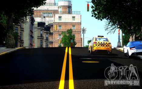 Different HD Roads для GTA 4