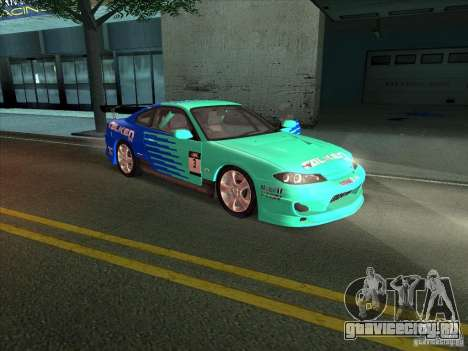 Nissan Silvia S15 Tunable KIT C1 - TOP SECRET для GTA San Andreas вид изнутри